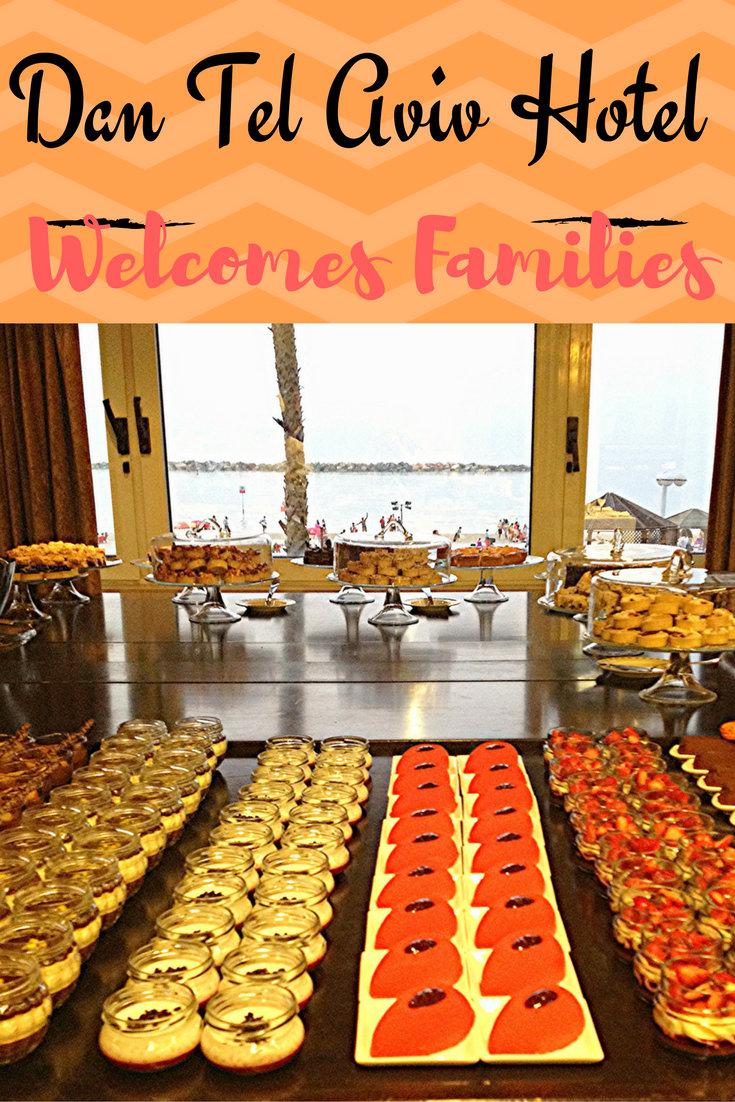 Dan Tel Aviv Hotel Welcomes Families pin