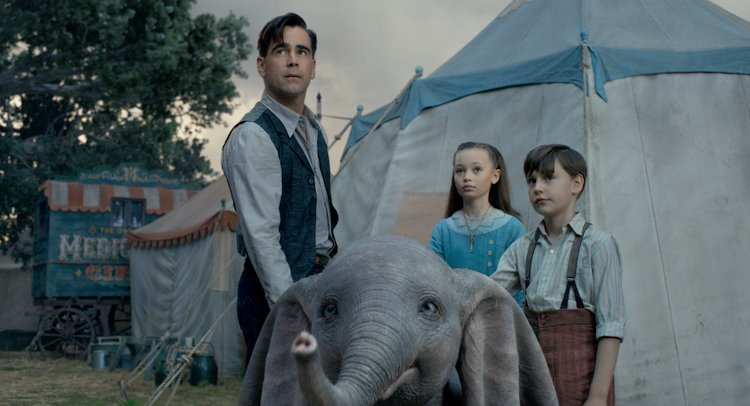Tim Burton's Dumbo Soars Captivating Audiences of all Ages family