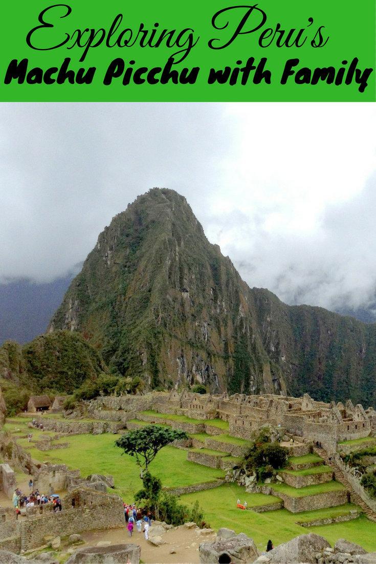 Exploring Peru's Machu Picchu with Family pin