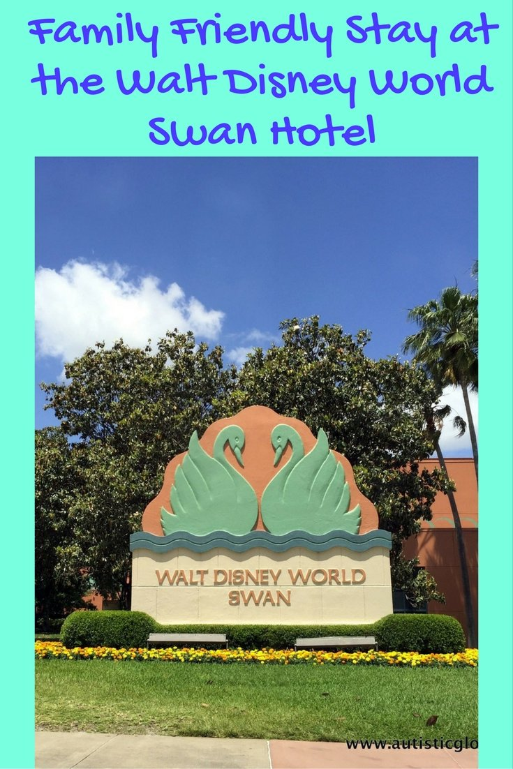 Family Friendly Stay at the Walt Disney World Swan Hotel pin