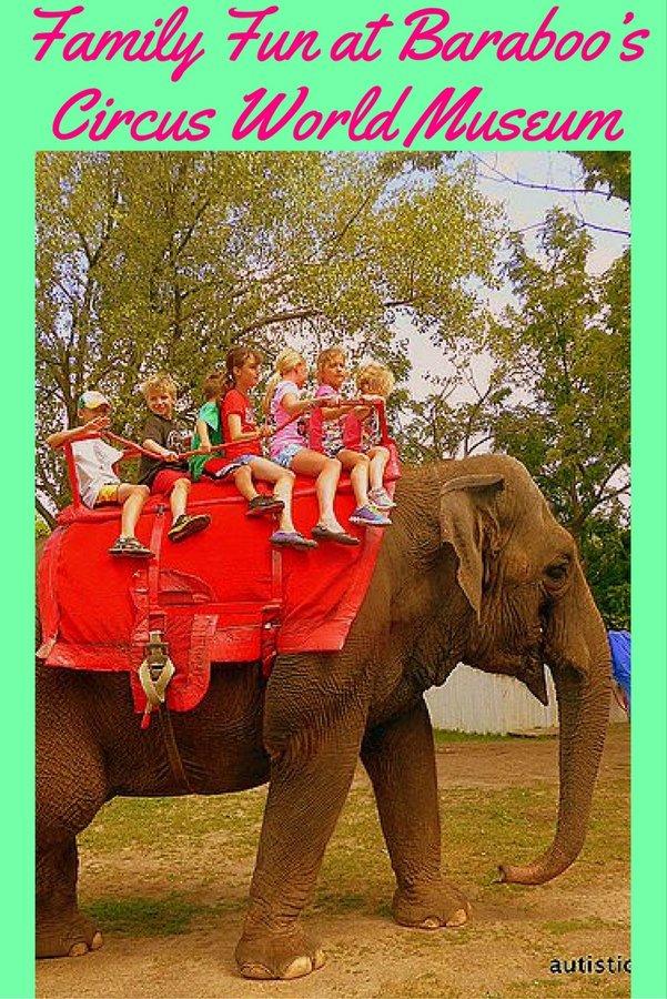 Family Fun at Baraboo's Circus World Museum pin