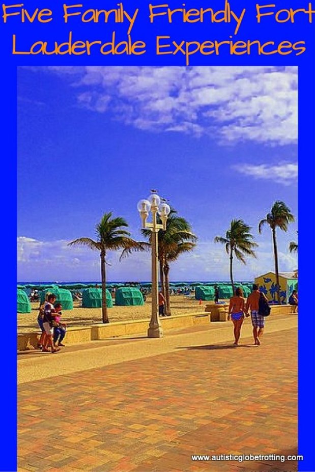Five Family Friendly Fort Lauderdale Experiences pin