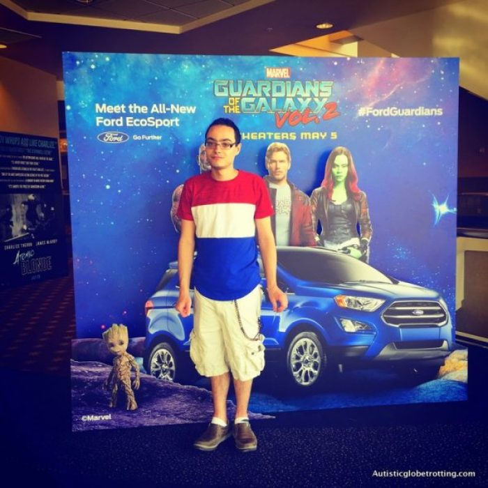 Guardians of the Galaxy Vol 2 kid friendly giveaway car