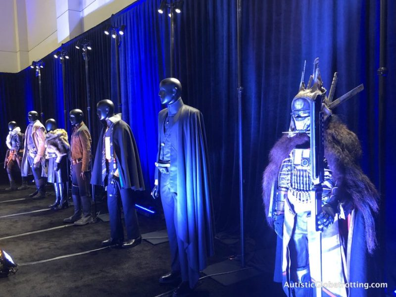 solo the star wars press junket costumes