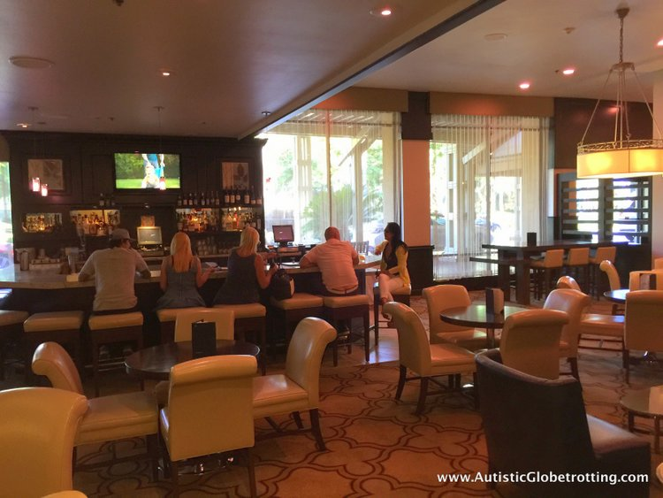 The Autism Friendly Sheraton Park at Anaheim Resort bar