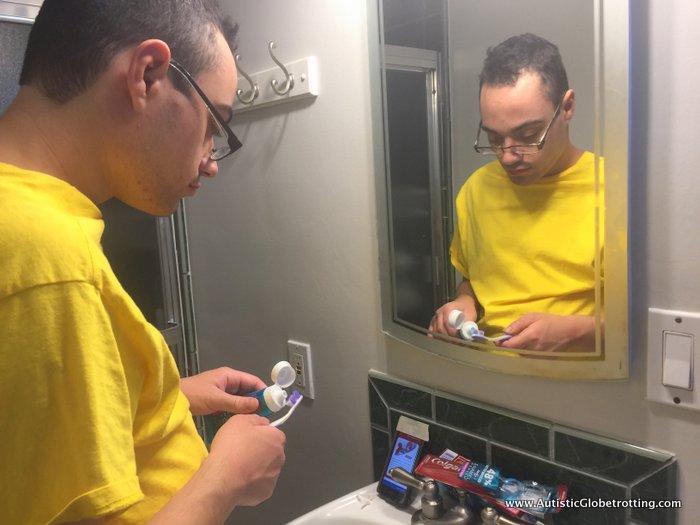Colgate and magnuscards jeffrey brushing
