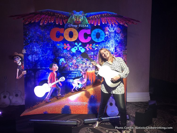 Pixar's Coco Press Junket highlights Mexico's Family Traditions selfies
