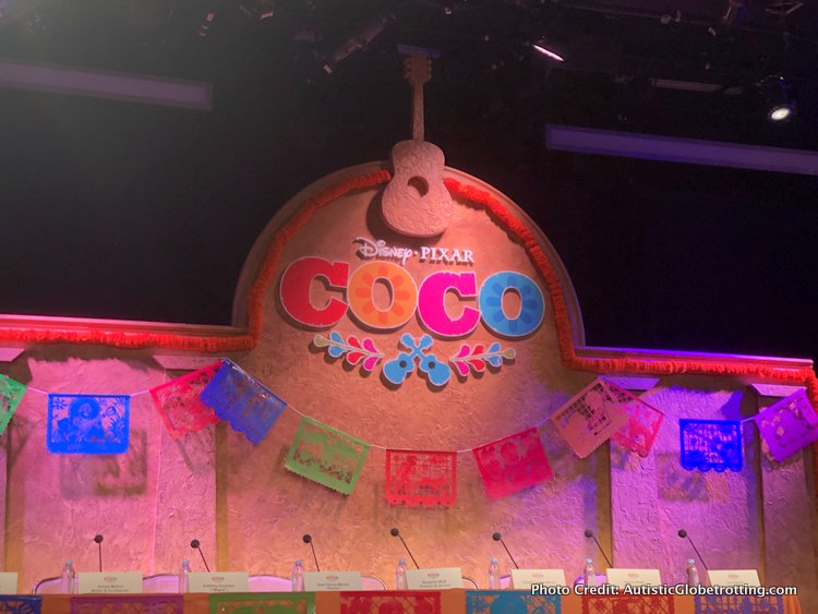 Pixar's Coco Press Junket highlights Mexico's Family Traditions table