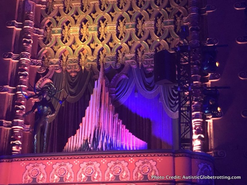 Visiting Hollywood's iconic El Capitan Theatre with Kids organ