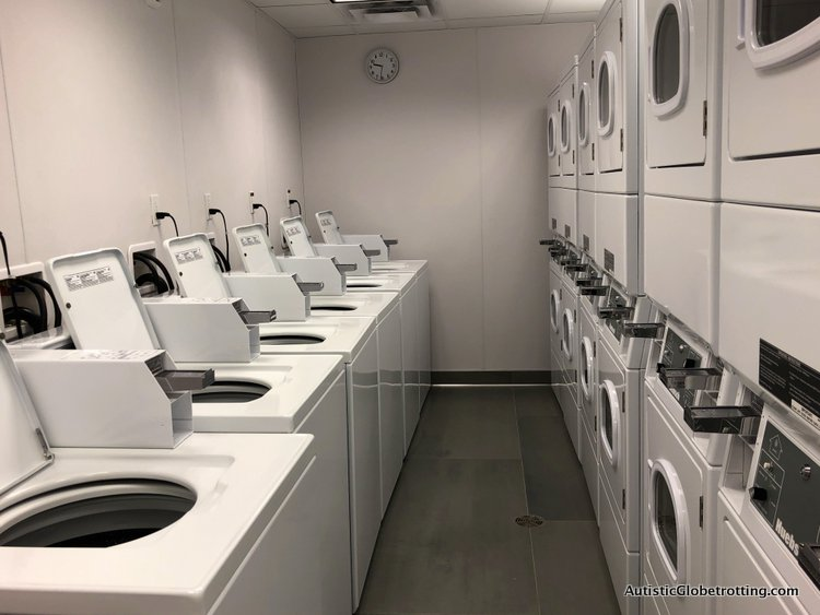 Residence Inn San Jose Cupertino caters to Autism Families hotel washers and dryers