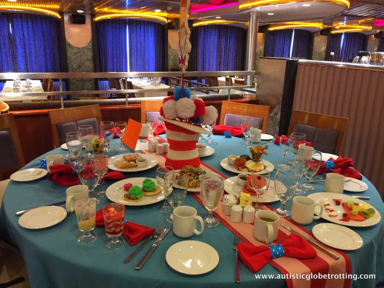 amily Friendly Activities Aboard the Carnival Imagination suess