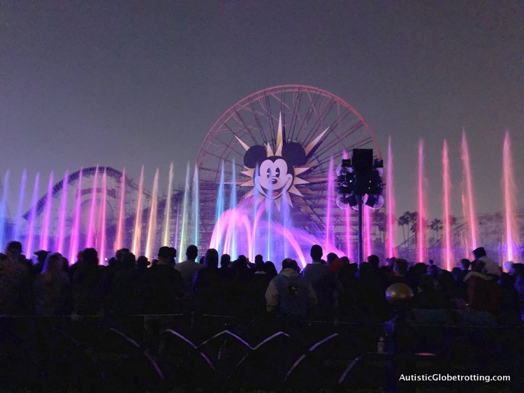 Attending Disneyland's Lunar Year Celebrations with Autism world of colors show