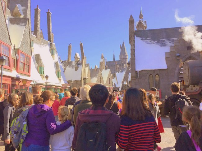 Exploring the Wizarding World of Harry Potter at Hollywood's Universal Studios smoke