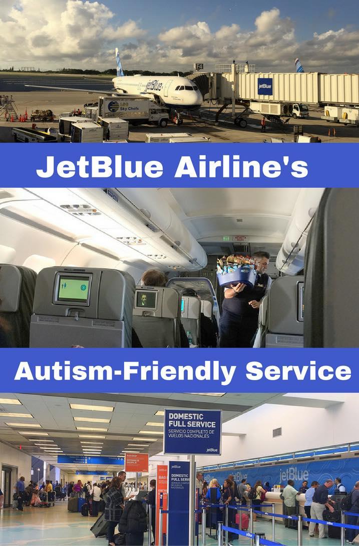 JetBlue Airline's Autism-Friendly Service Pin