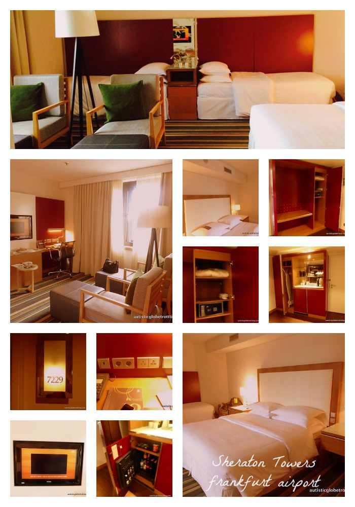 Perfect for a Layover- the Frankfurt Sheraton Towers Hotel room