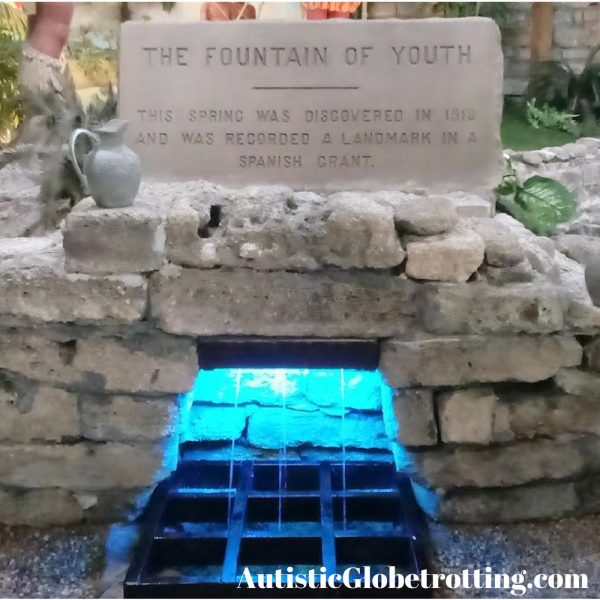 Florida St. Augustine Top Family Outdoor Attractions sulphur water fountain