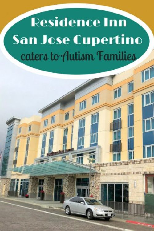 Residence Inn San Jose Cupertino caters to Autism Families pin