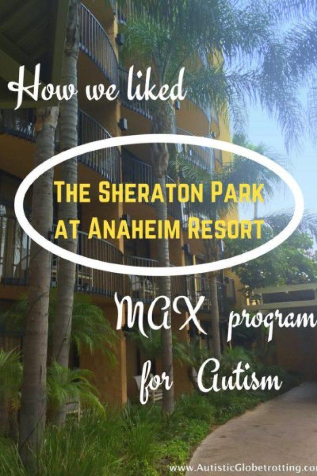 The Sheraton Park at Anaheim Resort pin