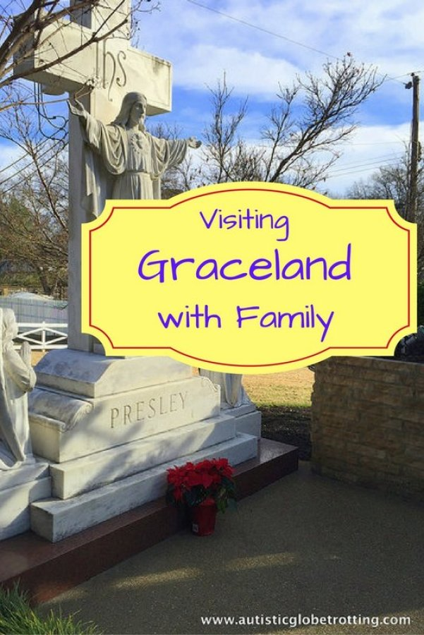 Visiting Graceland in Memphis Tennessee with Family pin