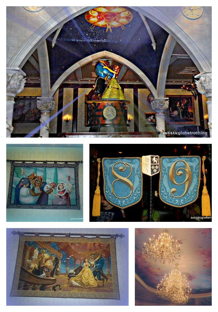 Disney's 'Be Our Guest' Restaurant tapestries