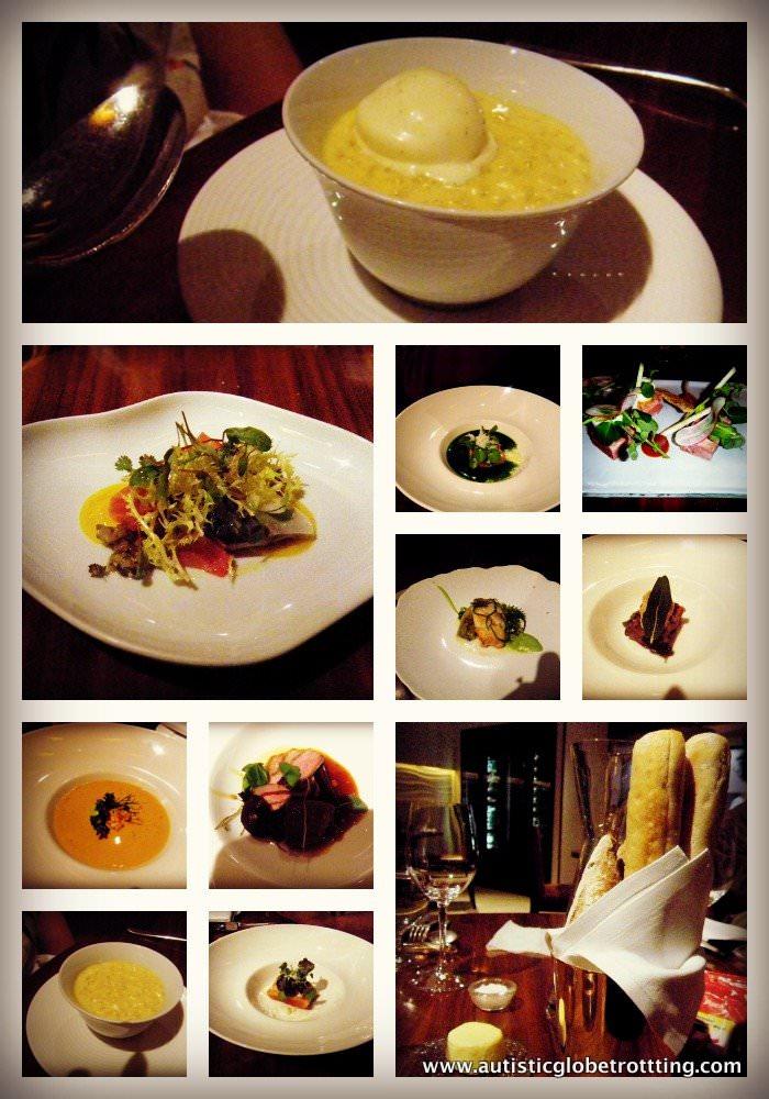 Review of London's Marriott Grosvenor Square Hotel maze restaurant