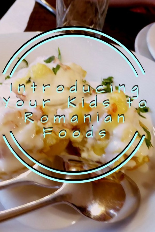 Introducing your kids to Romanian foods pin