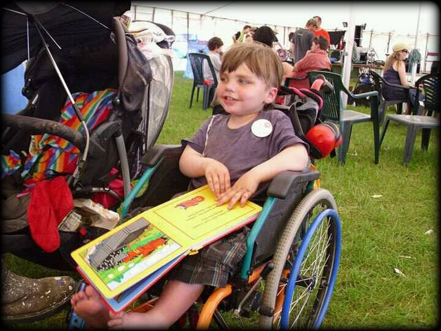Q&A with Wolfie Blue,founder of 'Rainbow Mamas Circus' son