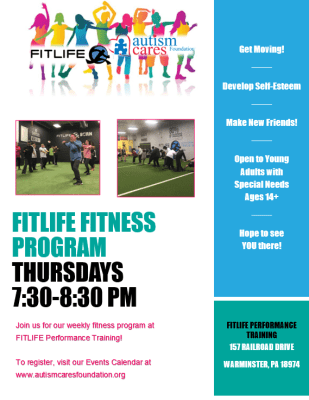 Fitlife Fitness Program @ Fitlife Performance Training Center | Ivyland | Pennsylvania | United States