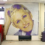 Students with Autism Create Celebrity Mosaics