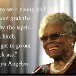 Short Tribute to Maya Angelou and why it matters to the Autism Community.