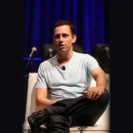 Peter Thiel, image taken from Facebook
