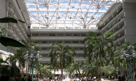 8 Hours in Orlando International Airport