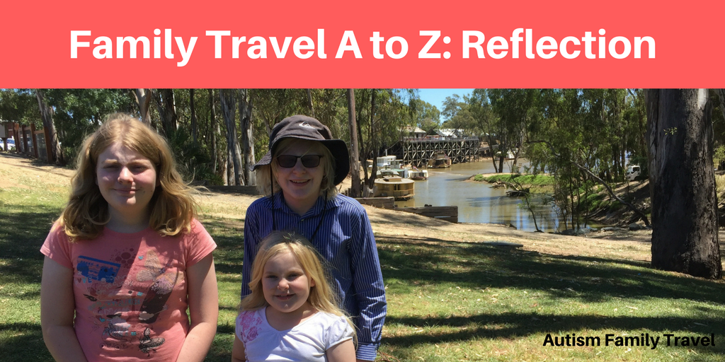 Family Travel A to Z: Reflection (Featured) - autismfamilytravel.com