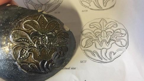 Fulham Pottery medallions