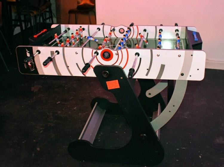 A table football table