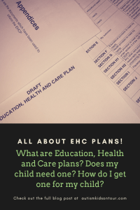 All about Education, Health and Care (EHC) plans!