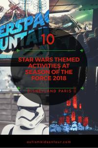 Ten Great Star Wars themed activities at Season of the Force, Disneyland Paris!