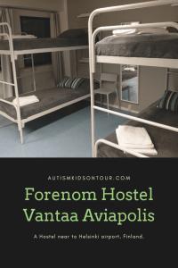 Forenom Hostel Vantaa Aviapolis, near Helsinki airport, Finland