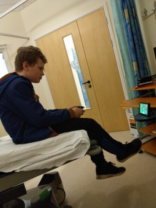A visit to hospital, part one