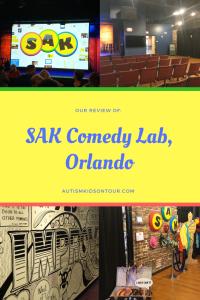 SAK Comedy Lab, Orlando, Florida