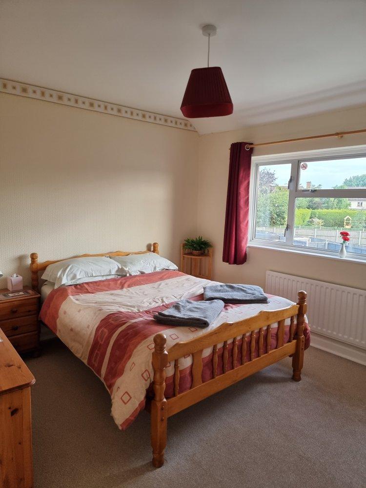Double bedroom at Endeavour Short Breaks