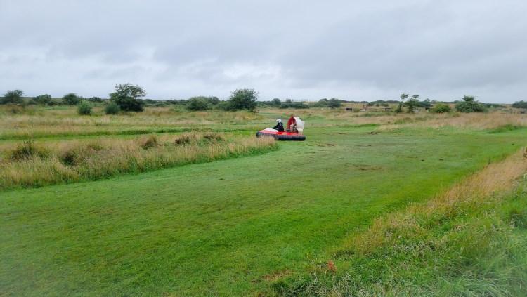Hovercrafts  at limitless adventure center, Northern Ireland