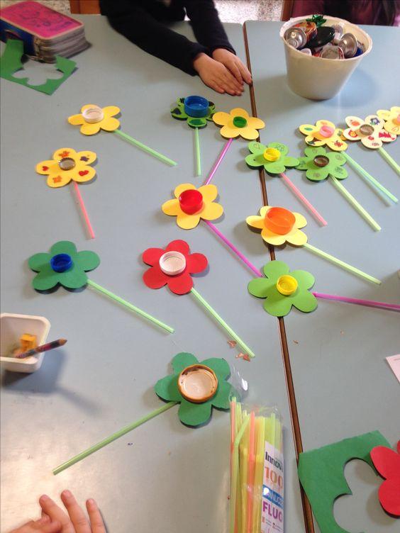 virág készítés gyerekekkel