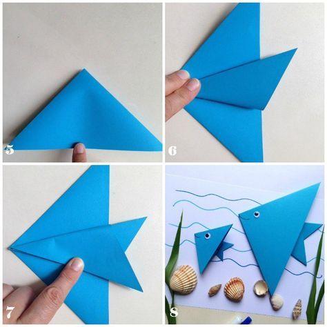 pesce-origami