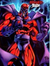 EL personaje del comic de Marvel Magneto