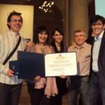 Entrega del premio Francisco Giner de los Rios a la mejora de la calidad educativa al C.C.E.E. El Alba