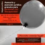 Asesoría y atención jurídica gratuita para personas con discapacidad en Bogotá