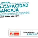 Presentación de la 2ª Semana D-Capacidad Bancaja