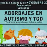 """Curso de """"Abordajes en Autismo y TGD"""" en Noviembre en Buenos Aires"""