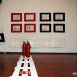 Erik, con ocho años, expone 30 dibujos en Madrid
